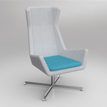 Free Chair with Alloy Base