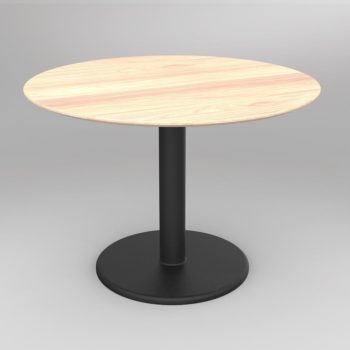 Collaborate Round Table Sit Height
