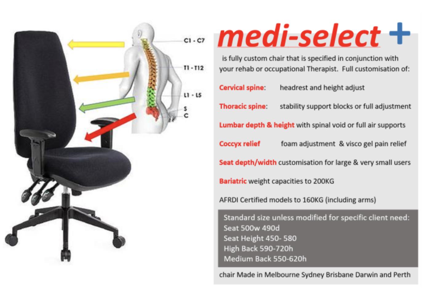 Medi Select Task Chair 2