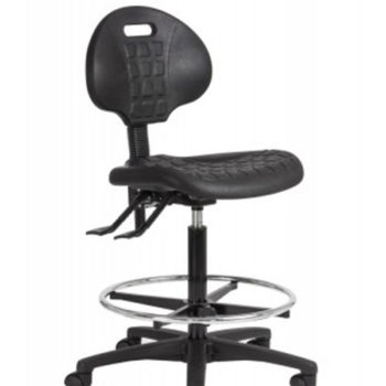 Wami Stool with Backrest